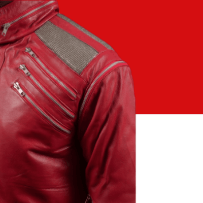 Michael Jackson Beat It Jacket With Removable Arms