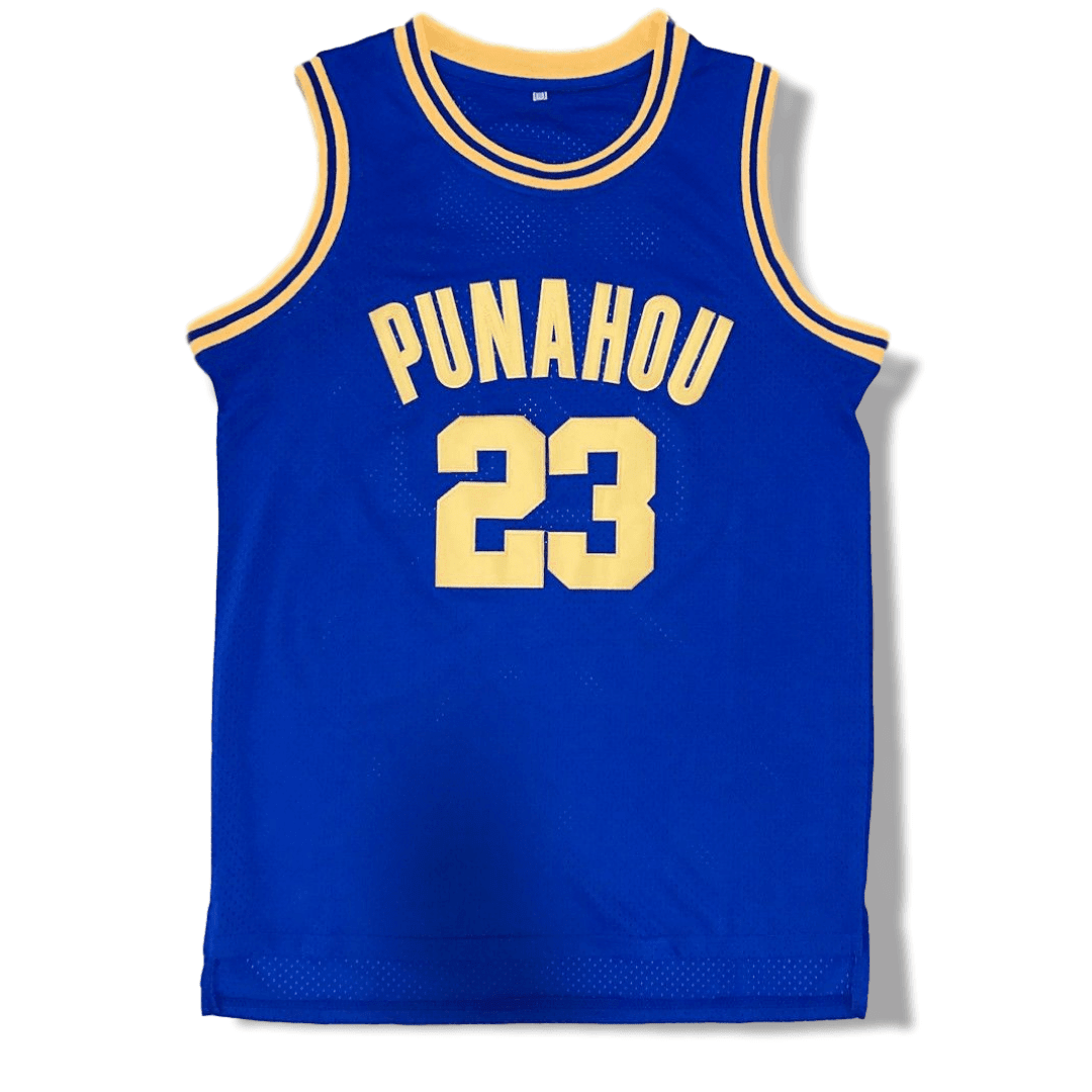 Barack Obama - 23 Punahou High Basketball Jersey