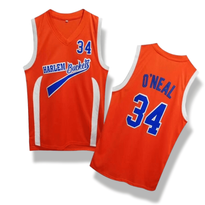 sale retailer e6e3c 6fcbb Uncle Drew - Shaquille O'Neal #34 Harlem Buckets Basketball Jersey