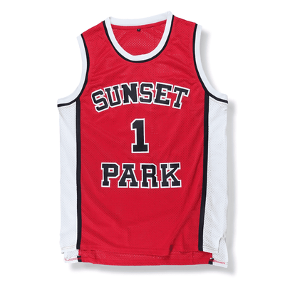Sunset Park - Fredro Starr/Shorty #1 Basketball Jersey - Industry Pieces