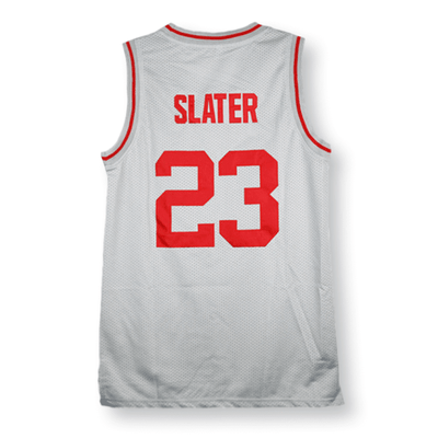 Saved By The Bell - AC Slater #23 Bayside Tigers Basketball Jersey