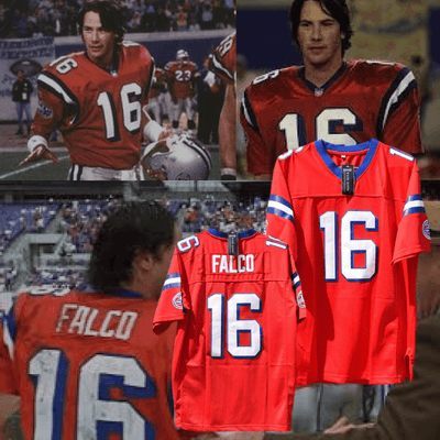 The Replacements - Keanu Reeves/Shane Falco #16 Football Jersey