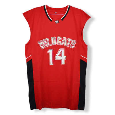 Troy Bolton #14 - High School Musical - Wildcats Basketball Jersey