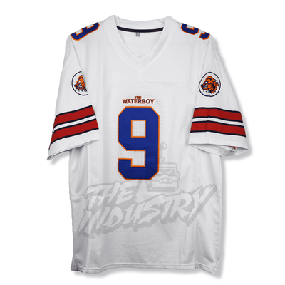 The Water Boy - Adam Sandler/Bobby Boucher - Mud Dogs Football Jersey