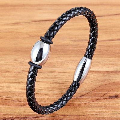Elegant Geometric Veins Leather Bracelet - 4 Colors
