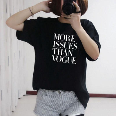 Vogue printed women comfortable tshirt