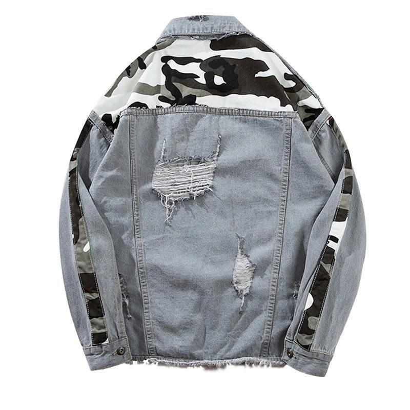 Winds BW Graffiti Jean Jacket