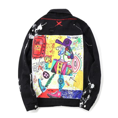 Graffiti Art Jean Jacket