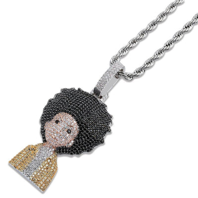 Huey & Riley Pendant + Necklace
