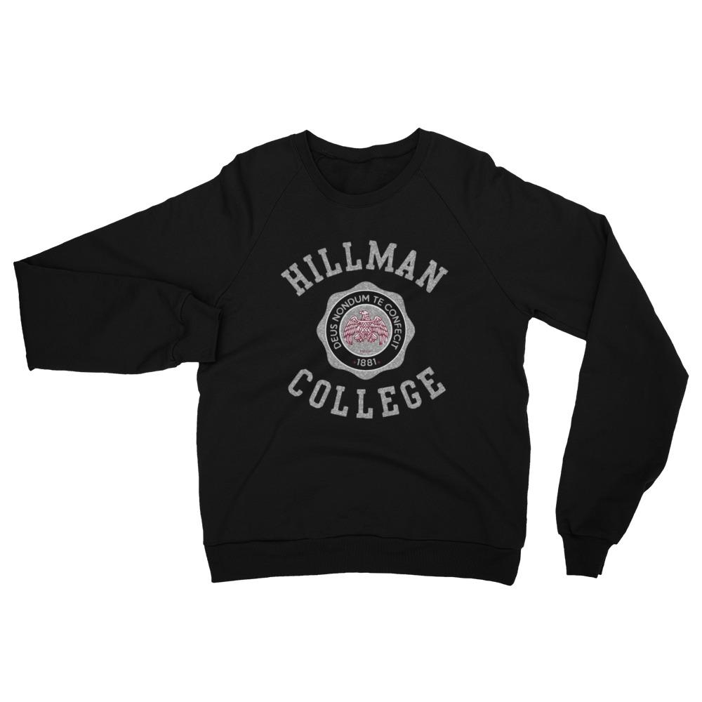 The Hillman Crewneck - Stone/Black