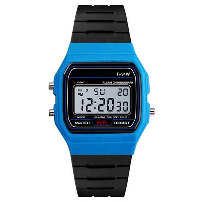 Retro Analog Digital LED Waterproof Watch