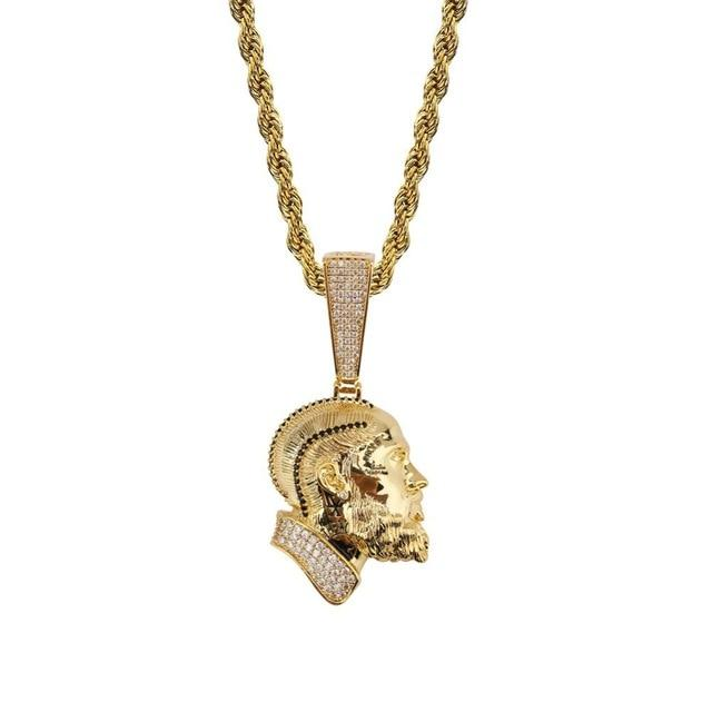 Gold / Rope Chain / 18inch 🏁 Nip The Great 💙 CDay Exclusive 💙 Pendant + Necklace - Industry Pieces