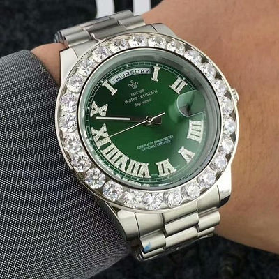 Lab Diamond Luxury Presidential Watch