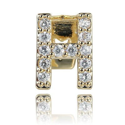 🔥 (Pre-Made) 26 Letters Single Lab Diamond Grillz