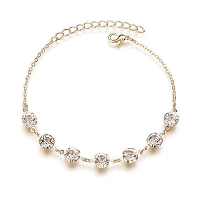 Lab Diamond Summer Anklet