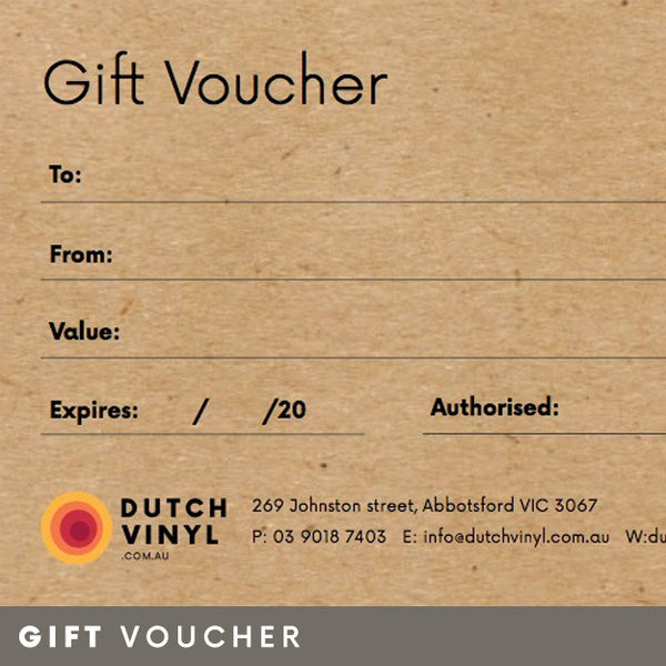 Gift Voucher for Vinyl Records