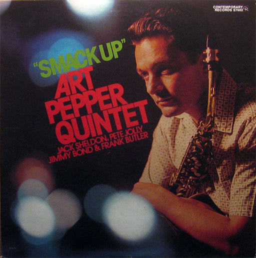 Art Pepper Quintet – Smack Up (LP, Vinyl Record Album)