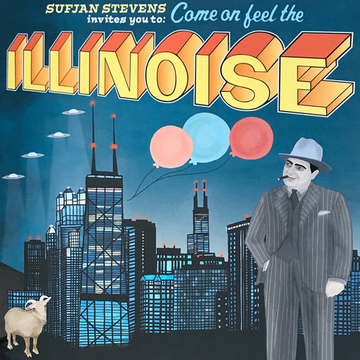 Illinois – Sufjan Stevens (LP, Vinyl Record Album)