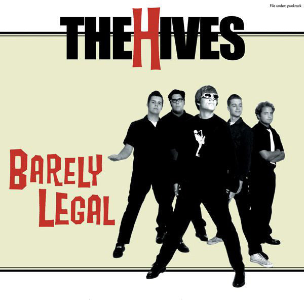 Barely Legal – The Hives (LP, Vinyl Record Album)