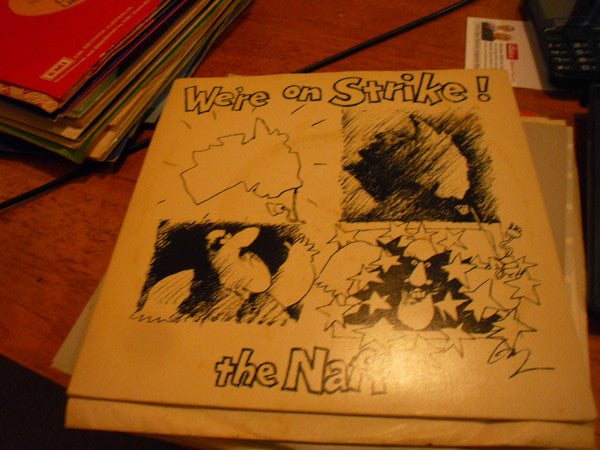 We're On Strike! – The Naff (LP, Vinyl Record Album)