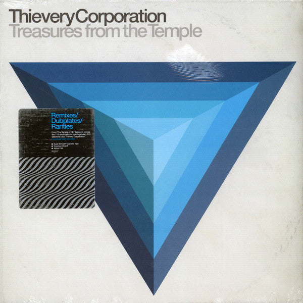 Treasures From The Temple – Thievery Corporation (LP, Vinyl Record Album)