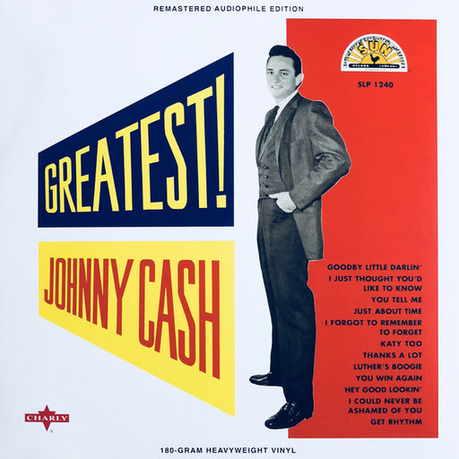 Johnny Cash – Greatest! (LP, Vinyl Record Album)