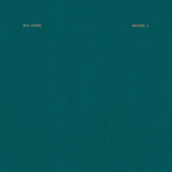 Encores 2 – Nils Frahm (LP, Vinyl Record Album)