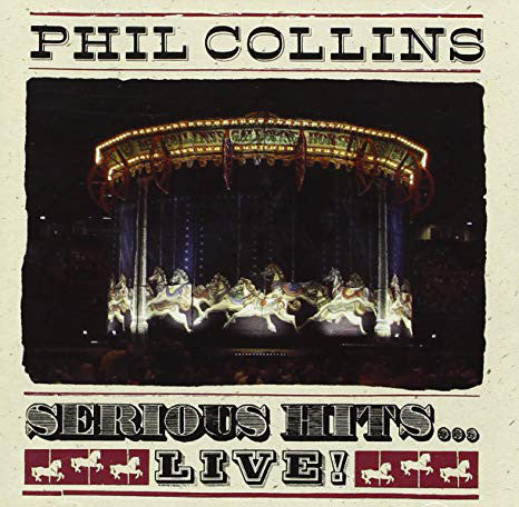 Serious Hits...Live! – Phil Collins (LP, Vinyl Record Album)