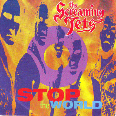 Stop The World – The Screaming Jets (LP, Vinyl Record Album)