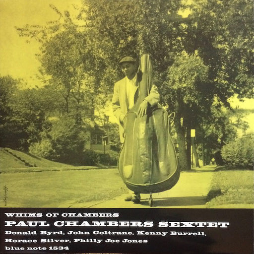 Paul Chambers Sextet – Whims Of Chambers (LP, Vinyl Record Album)