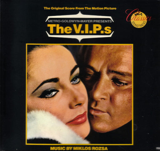The V.I.P.s (The Original Score From The Motion Picture) – Miklós Rózsa (LP, Vinyl Record Album)