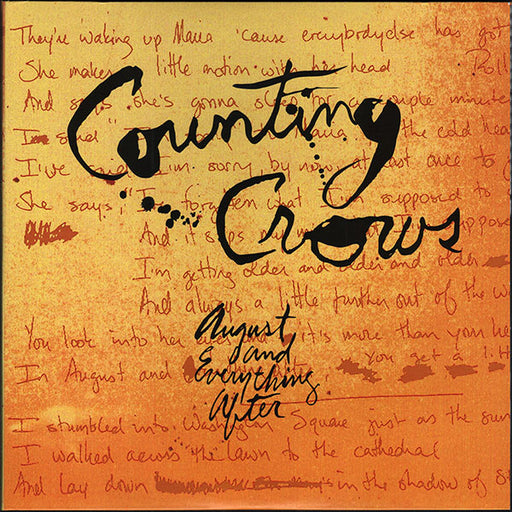 Counting Crows – August And Everything After (LP, Vinyl Record Album)