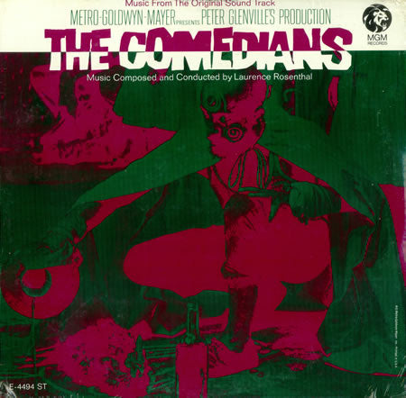The Comedians - Music From The Original Sound Track – Laurence Rosenthal (LP, Vinyl Record Album)
