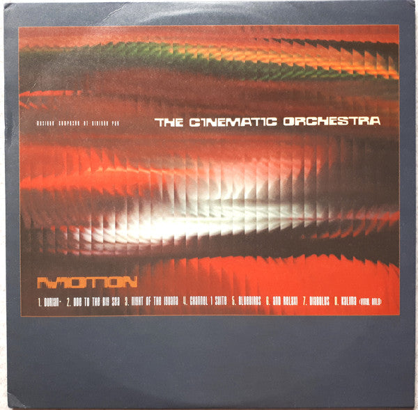 The Cinematic Orchestra – Motion (LP, Vinyl Record Album)