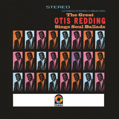 The Great Otis Redding Sings Soul Ballads – Otis Redding (Vinyl record)
