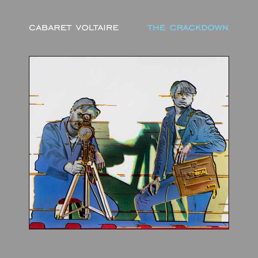 Cabaret Voltaire – The Crackdown (LP, Vinyl Record Album)