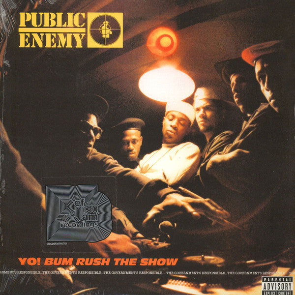 Yo!  Bum Rush The Show – Public Enemy (LP, Vinyl Record Album)