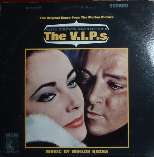 The V.I.P.'S (The Original Score From The Motion Picture) – Miklós Rózsa (LP, Vinyl Record Album)