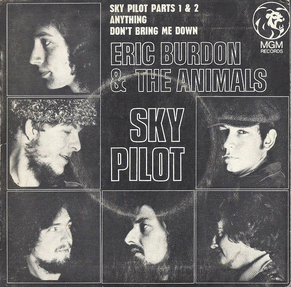 Sky Pilot – Eric Burdon & The Animals (LP, Vinyl Record Album)