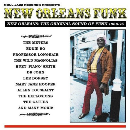 New Orleans Funk (New Orleans: The Original Sound Of Funk 1960-75) – Various (Vinyl record)