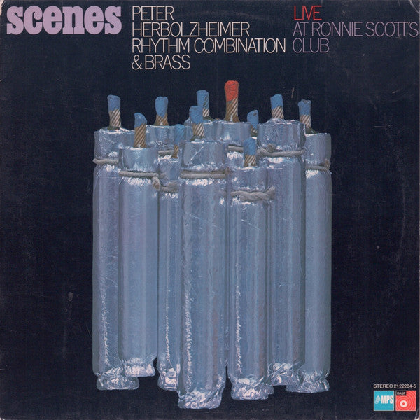 Scenes (Live At Ronnie Scott's Club) – Peter Herbolzheimer, Peter Herbolzheimer Rhythm Combination & Brass (LP, Vinyl Record Album)