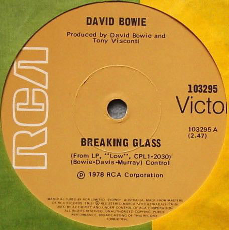 Breaking Glass / Art Decade – David Bowie (LP, Vinyl Record Album)