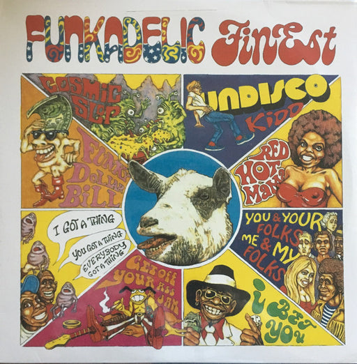 Finest – Funkadelic (LP, Vinyl Record Album)