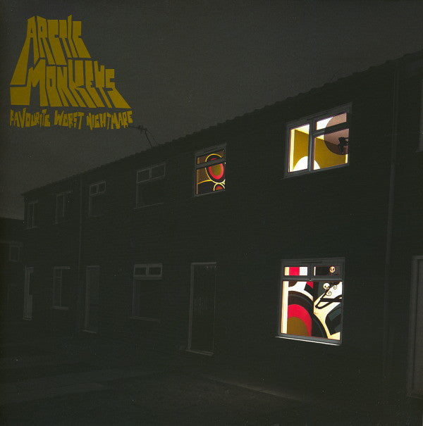 Favourite Worst Nightmare – Arctic Monkeys (Vinyl record)