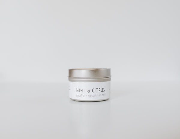 Mint & Citrus Candle
