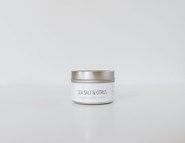 Sea Salt & Citrus Candle