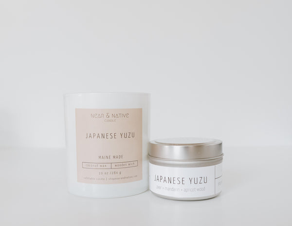 Japanese Yuzu Candle
