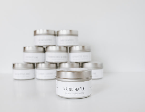 Maine Maple Candle
