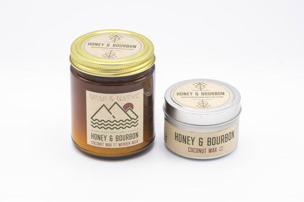Honey & Bourbon Candle