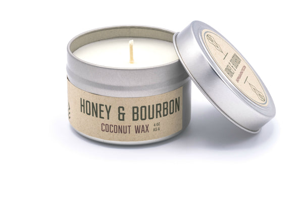 Honey & Bourbon Travel Candle